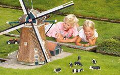 Madurodam, miniature city in Holland