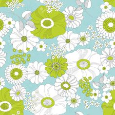 30898872-Seamless-floral-hand-drawn-background-with-flowers-in-spring--Stock-Photo.jpg (1300×1300)