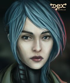 All of the artwork from the game's cutscenes was drawn by our illustrator Bogna Gawrońska. Dex - 2D cyberpunk indie RPG game - www.dex-rpg.com