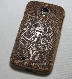 Samsung Galaxy S4 Aztec case Wood Galaxy S4 Aztec by PhoneKiosks, $22.00