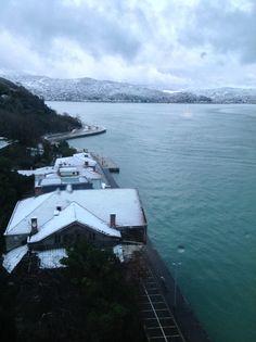 Under snow.. Istanbul