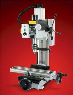 MicroLux High Precision Heavy Duty R8 Miniature Milling Machine