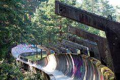 Sarajevo Olympic Bobsleigh and Luge Track — Sarajevo, Bosnia and Herzegovina | 17 Surreally Creepy Abandoned Places Around The World