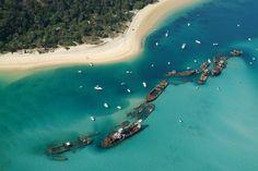 Tangalooma Wrecks, Moreton Island