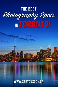 From landscape to architecture and nature photography, these are the best photography spots in Toronto! Toronto Vacation, Toronto Hotels, Toronto Nightlife, Toronto Travel, Downtown Toronto, Toronto Light Festival, Amazing Photography, Nature Photography, Brick Works