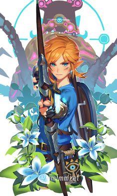 The Legend Of Zelda, Legend Of Zelda Breath, Link Zelda, Breath Of The Wild, Image Zelda, Game Character, Character Design, Link Botw, Princesa Zelda