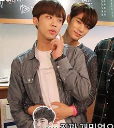 Inseong and Seungjun would make an adorable couple
