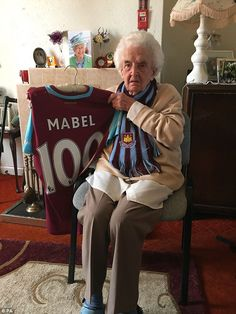 Dancing with Bobby Moore and watching a game during the Second World War... 100-year-old West Ham fan Mabel Arnold shares memories ahead of final game at Upton Park