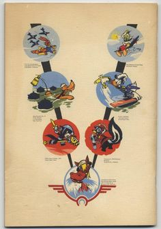 Dispatch From Disney World War 2 Book and Poster for Disney Staff in Service 1943