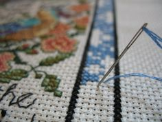 Tips on Ironing Counted Cross Stitch