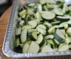 This is how you should be freezing summer squash...what to do with all that summer squash that you have in the garden.