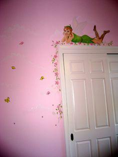 Tinkerbell over the door