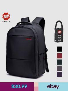 2017 Tigernu Unique Waterproof Nylon Men Backpack 17 Inch Backpack Fit  Laptop Computer Notebook Women Backpack School Bag SEE 4875f4eeff583