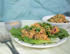 Harissa Tahini Salad