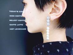 【YURIKALAMODE】JULICA designer's blog: pearl ring, pearl earring. パールリングとパールイヤリング。