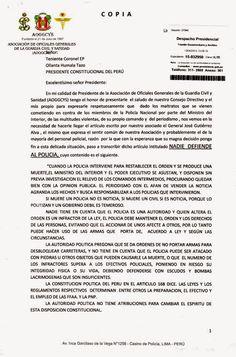 LAS  FUERZAS   DEL   ORDEN  :   FFAA  Y  PNP: