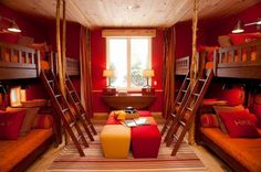Could you use a room like this in your home? Sure, the top bunks are hard to make, but... View more bunkbeds and bedrooms for children on our site at http://theownerbuildernetwork.co/childrens-bits-and-pieces/ Got an opinion on this? Share your thoughts in the comments section.