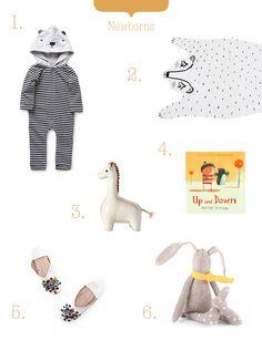 shopping for newborns!