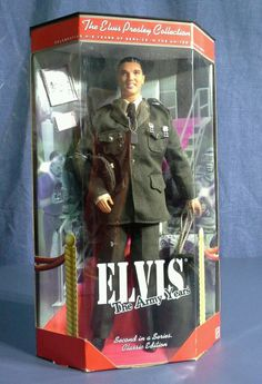 Elvis The Army Years 1999 Barbie Doll 21912