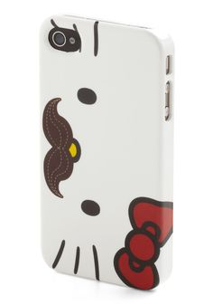 Groomed for Success iPhone Case by Loungefly - White, Red, Brown, Kawaii (from Modcloth)
