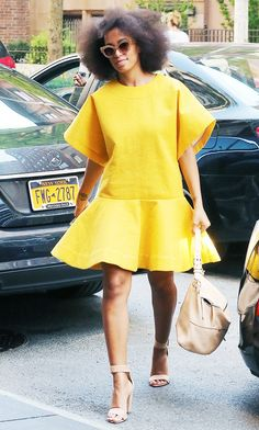 The 11 Most Memorable Celebrity Spring Outfits via @WhoWhatWear