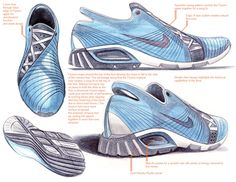 Footwear Design by Rob Williams at Coroflot.com