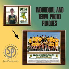 Some schools give out senior or parent night individual plaques, others present the athletes and coaches with a team photo plaque, and some schools do both. All are great ways to appreciate and recognize your athletes. What would you like to do? #sportplaques #photoplaque #teamphoto #recognitionnplaque Team Photos, Sports Photos, Award Plaques, Parent Night, Sports Awards, Coaches, Banquet, A Team, Athletes