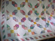 30s reproduction quilt by BigSkyStashBuster on Etsy, $175.00