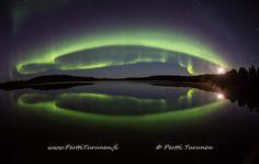 Aurora Borealis Könkäänjärvi Inari Lapland
