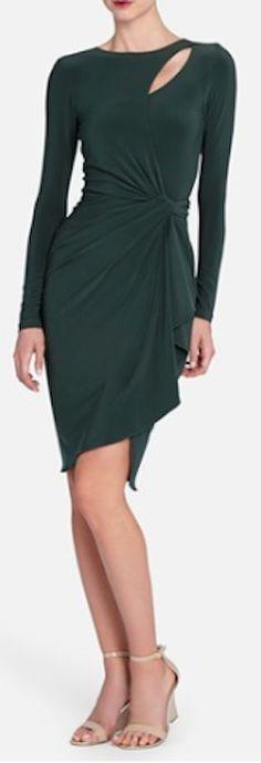 keyhole drape jersey dress  http://rstyle.me/n/npds2pdpe