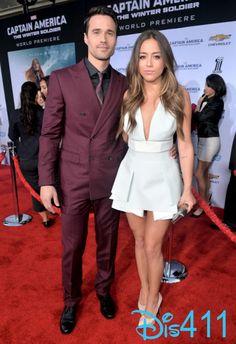 Brett Dalton and Chloe Bennet