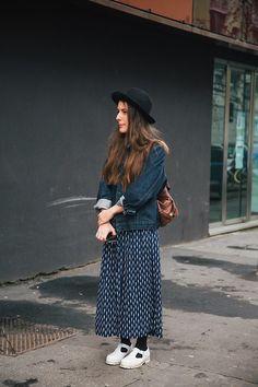 London & NYC street fashion May, 2013