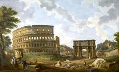 Giovanni Paolo Panini - View of the Colosseum 1747