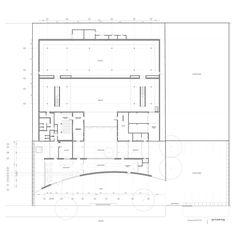 Ground Floor Plan : Vitra Design Museum, Weil am Rhein