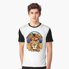 Lion Design, My T Shirt, Chill, Tank Man, My Arts, Art Prints, Printed, Awesome, Artist