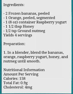 Bananas raspberry smoothies