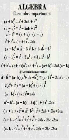 Life Hacks For School, School Study Tips, Maths Algebra Formulas, Math Formula Chart, Maths Ncert Solutions, Math Tutorials, Physics And Mathematics, Good Vocabulary, Basic Math