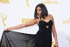 Taraji P. Henson, Julie Louis-Dreyfus and many more bring glamour to the awards show Sunday in Los Angeles.