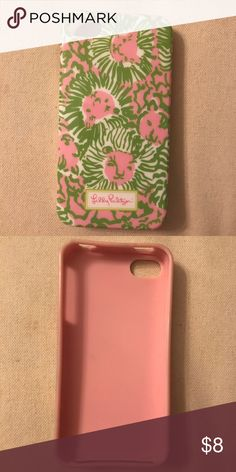 Lilly Pulitzer Lion iPhone 5/5s Case Super cute & in great condition! Please let me know if you have any questions! Lilly Pulitzer Accessories Phone Cases