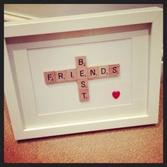 Trendy gifts for friends diy bff Christmas Presents For Bestfriend, Birthday Gifts For Bestfriends, Diy Christmas Presents, Presents For Best Friends, Diy Gifts For Friends, Presents For Boyfriend, Christmas Gifts For Friends, Diy Presents, Best Friend Gifts