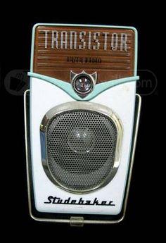 Transistor AM/FM Radio Studebaker