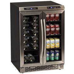 Avanti 19 Bottle French Door Wine and Beverage Cooler Video Image