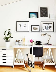 Work Happily with These 50 Home Office Designs ---- For Men Organization Ideas Farmhouse Design For Two Small Desk Work From Guest Room Library Rustic Modern DIY Layout Built Ins Feminine Chic On A Budget Storage Inspiration Bedroom Ikea Colors With Couch Home Office Design, Home Office Decor, Office Designs, Office Ideas, Men Office, Office Furniture, Office Inspo, Pipe Furniture, Furniture Vintage