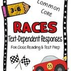This set includes 61 pages of resources to teach students how to write text dependent reading responses.
