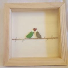 CHECK ANNOUNCEMENT  birds, Medium pebble art, sea glass, song birds, wall birds.