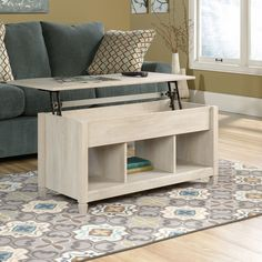 Sauder Edge Water Lift Top Coffee Table 419096