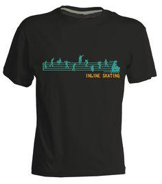 Symphony Inline skating t-shirt,
