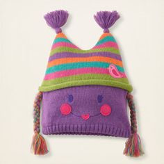 I love this doll hat from The Children's Place. Too bad my daughter wouldn't keep it on...