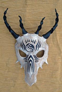 Tribal Dragon Skull Mask no. 1 by merimask on @DeviantArt