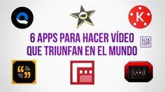 Te presentamos las 6 aplicaciones para hacer vídeos con tu móvil que triunfan en todo el mundo: tanto para iOS como para Android.